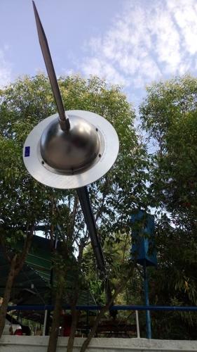 Αλεξικέραυνο στις κατασκηνώσεις Ασημακόπουλου στο Καπανδρίτι